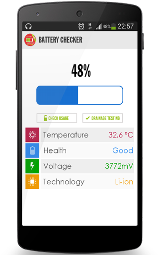 Android的電池監控器