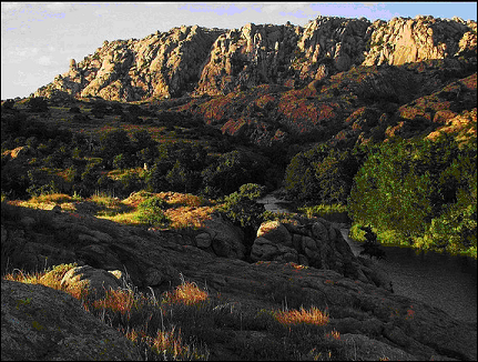 Elk Mountain, Wichitas