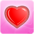 zFalling Hearts Free LWP icon