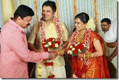 Balachandra Menon daughter Bhavana marriage pic