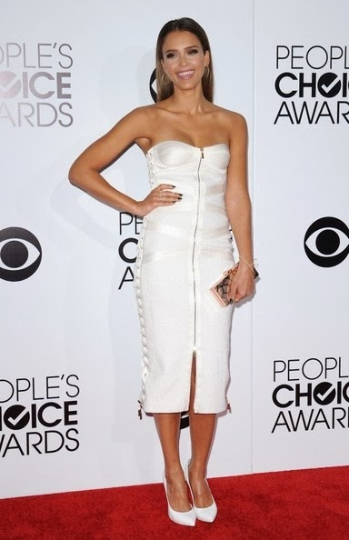 Jessica Alba People s Choice Awards 2014