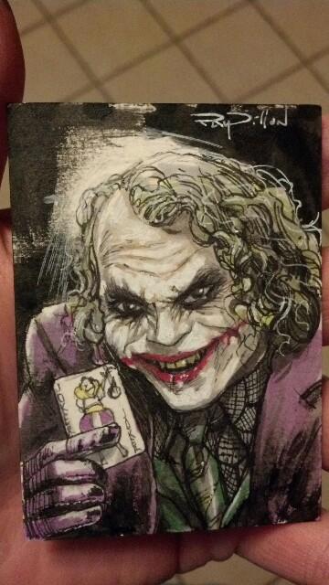 Joker Card Dark Knight Tattoo