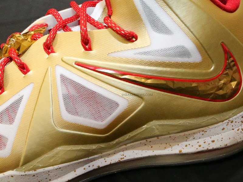 new style 37ec6 f9085 ... Detailed Look at Nike LeBron X 8220Ring Ceremony8221 PE ...