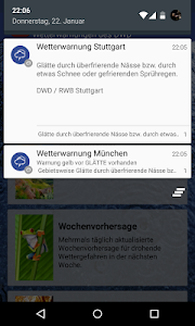 Wetterwarner Pro screenshot 5