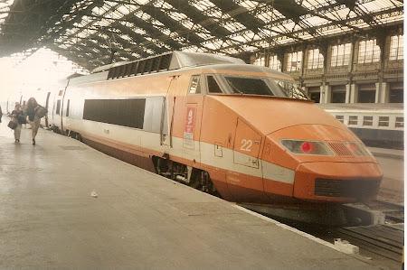 Cai ferate de mare viteza Franta