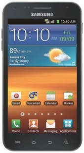 Samsung Galaxy S II Epic Touch 4G black