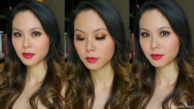 Guerlain Holiday Makeup Look