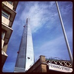 The Shard Fenning Street View