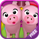 Animal matching for Kids FREE icon
