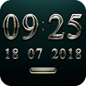 KOMPONIST Digital Clock Widget icon