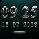KOMPONIST Digital Clock Widget icon
