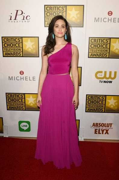 Emmy Rossum attends the 4th Annual Critics Choice Television Awards