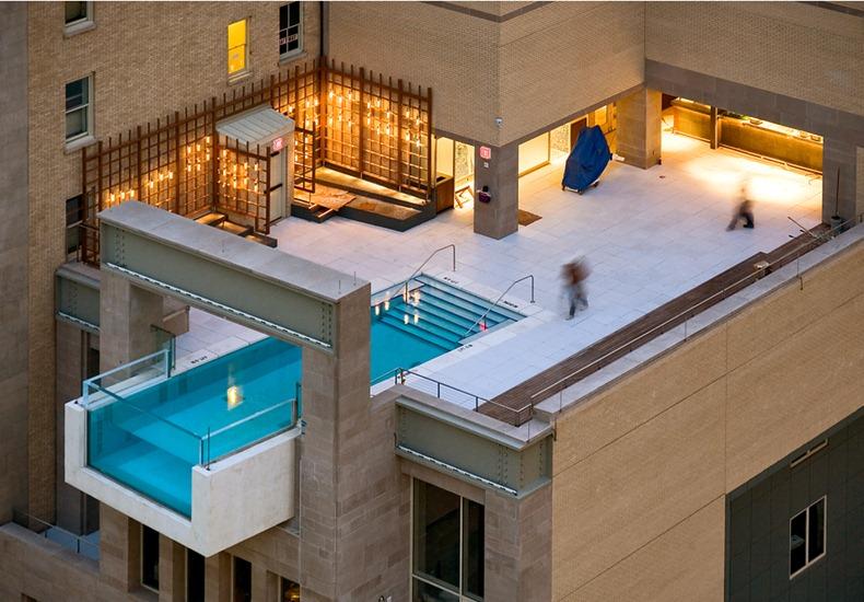 4 Incredible Hanging Hotel Pools | Amusing Planet