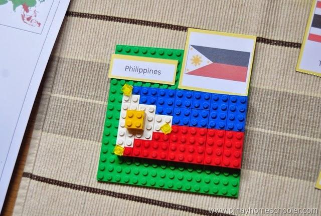 Southeast Asia LEGO FLAGS
