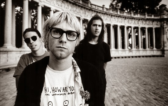 Nirvana, Parque El Retiro, Madrid, Spain, 3rd July 1992 © Steve Double