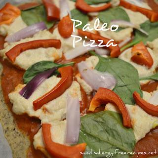 Paleo Pizza Crust (Gluten Free/ Dairy Free/ Vegan/ Nut Free).