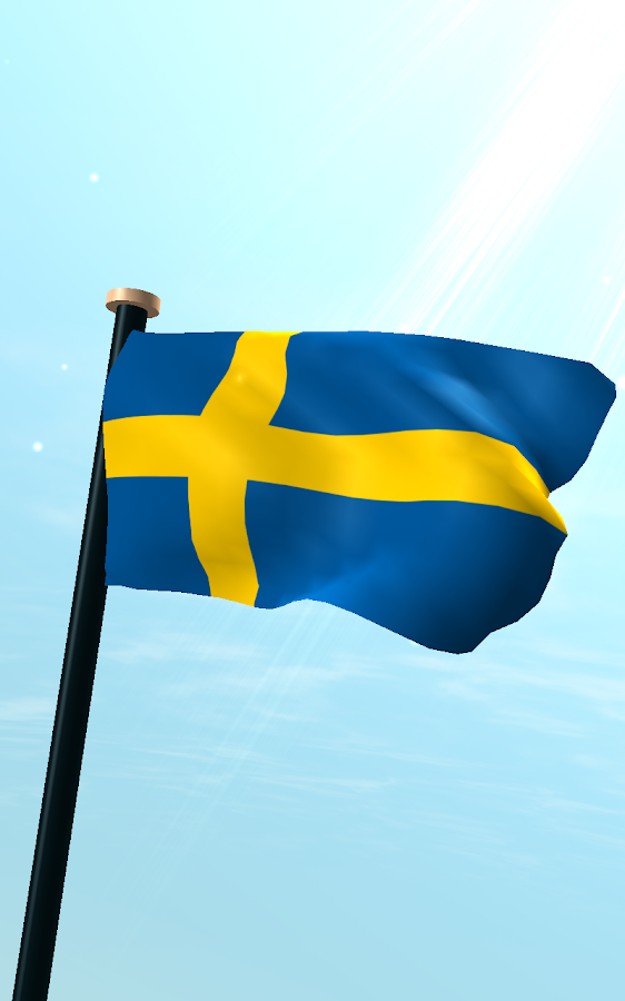 Sweden Flag D Free Wallpaper Android Apps On Google Play - Sweden map 3d