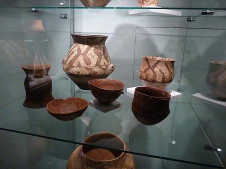 Ceramica Cucuteni la muzeul de istorie