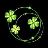 3D lucky leaf