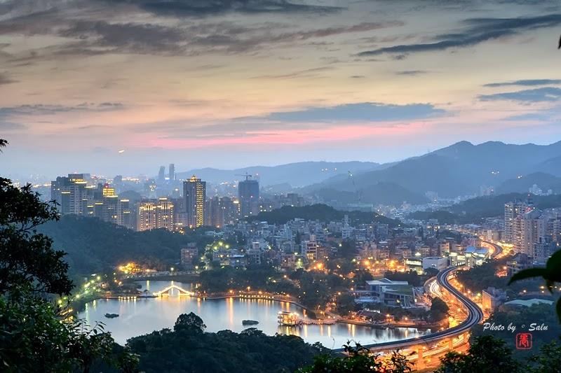 台北 內湖 康樂山 夜景 攝