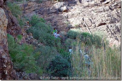 7046 Cruz Tejeda-Artenara-Guardaya(Bajando por el Barranquillo)