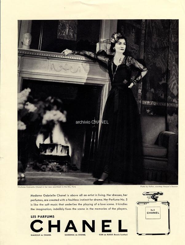 1937 Gabrielle Chanel by François Kollar
