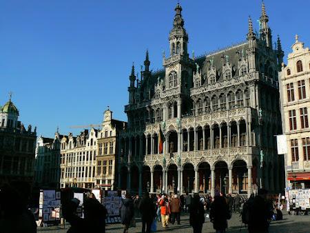 Imagini Belgia: Grand Place Bruxelles