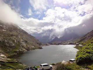 Lac au Col du Grand-St-Bernard