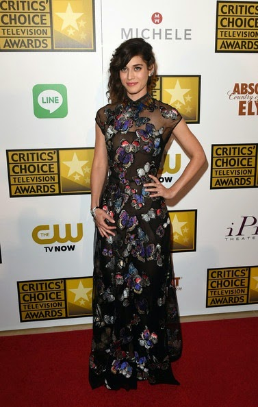 Lizzy Caplan Arrivals Critics Choice Television Awards