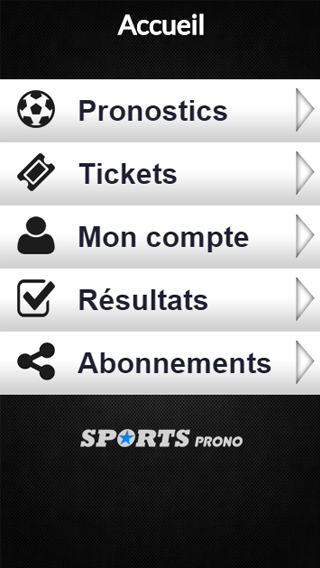 Sports Prono- screenshot