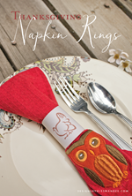 Designs by Miss Mandee - Napkin Rings