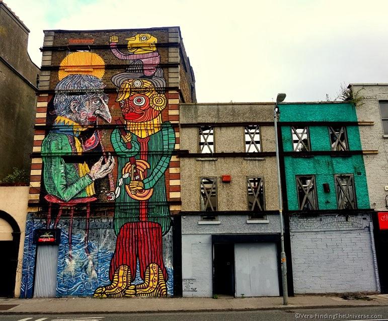 """Vadis & Tilf for """"Muro"""" - Street Art Dublin"""