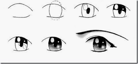 Easy Drawing Anime Girl at GetDrawings | Free download |How To Draw Anime Girl Eyes Step By Step For Beginners