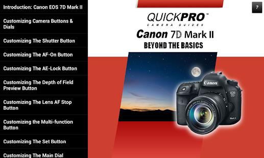 canon 7d mark ii autofocus guide