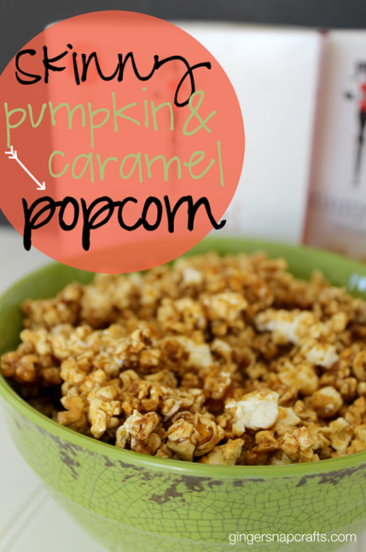 Skinny Pumpkin & Caramel Popcorn at GingerSnapCrafts.com #skinnygirlsnacks #collectivebias #shop_thumb[1]