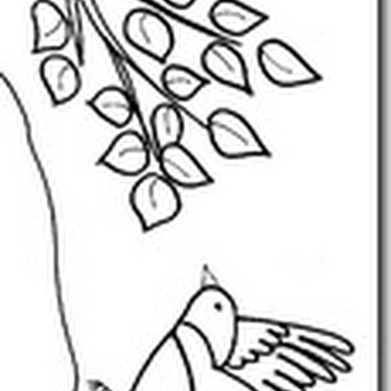 Dibujos primavera de animales para pintar colorear
