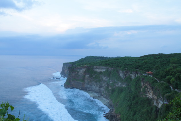 Cliff view at Uluwatu, South Bali, Indonesia