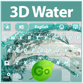 3D Water Keyboard