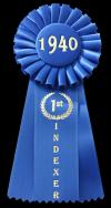 蓝丝带,1940年在黑色,100