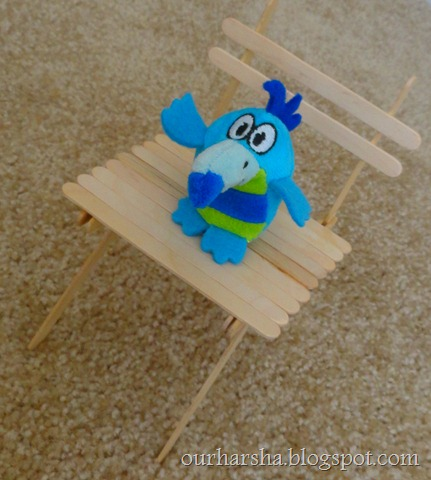 Popsicle sticks Chair (14)