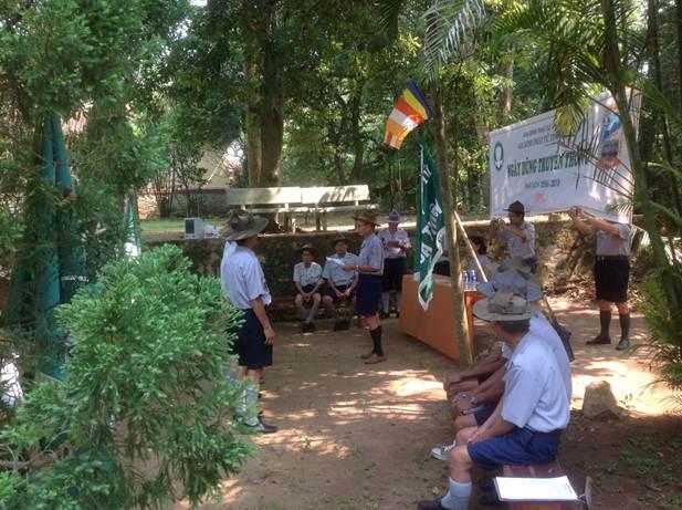 image006 BHD GĐPT Thừa Thiên tổ chức Trại Dũng năm 2013