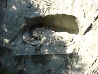 Monument au Lion à Lucerne