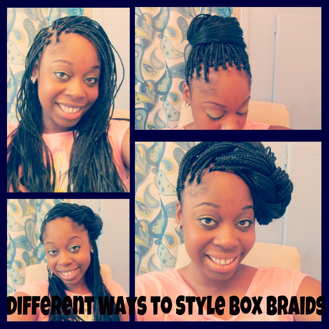 different ways to style braided hair 10 ways to style box braids hairstylegalleries 5455
