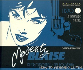 P00001 - Modesty Blaise #1