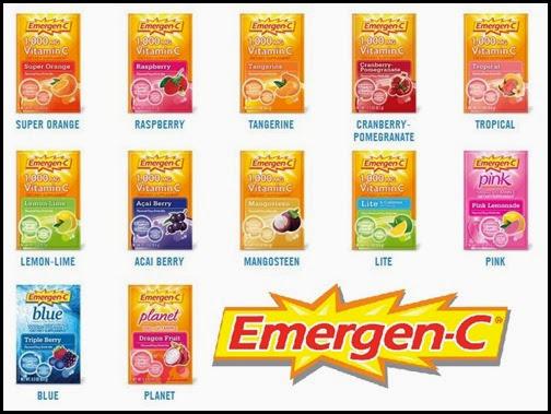 Emergen-C Flavors