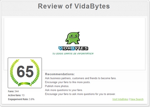 Review of VidaBytes