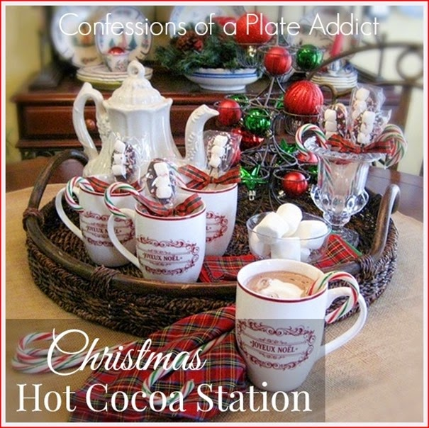 CONFESSIONS OF A PLATE ADDICT Christmas Hot Cocoa Station