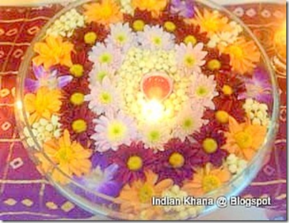 Diwali potpourri floating lamps ideas
