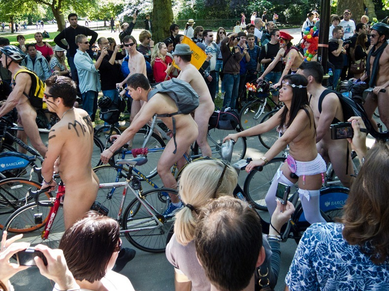 World Naked Bike Ride 2011