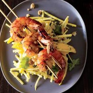 Grilled Shrimp Salad with Mango Dressing